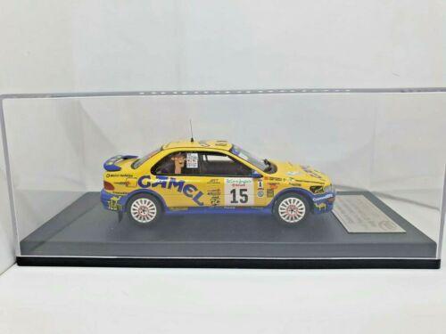 Subaru Impreza Toni Ponce//S.Garcin Rally Corte ingles 1997 PITES-TROFEU 1//43