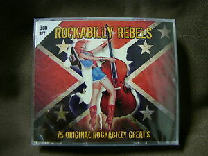 Rockabilly-Rebels-75-Canzoni-3-CD-NUOVO