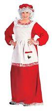 Christmas Mrs. Santa Claus Holiday Adult Womens Dress Costume Plus Size