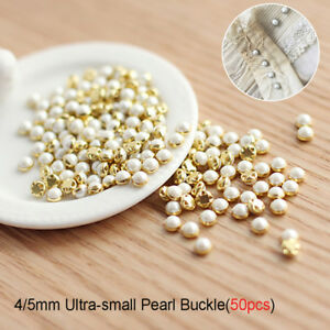 Bjd-Blythe-Pullip-Clothing-Sewing-DIY-Doll-Clothes-Mini-Pearl-Buttons