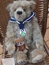Hermann Sonneberg Museums Bear Mohair #141 of 500! Mint! With Mini Bear!