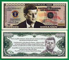 JFK President Fantasy Banknote Uncirculated