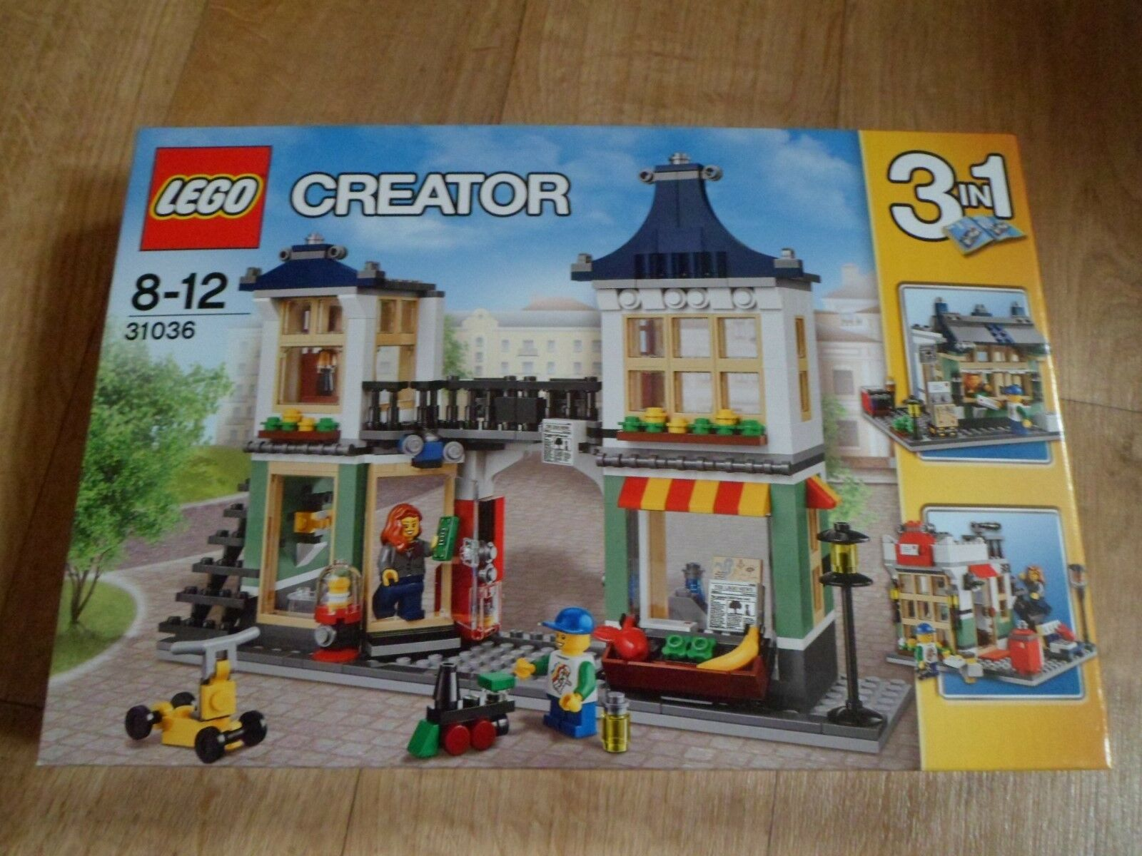 LEGO Creator Toy & Grocery Shop 3 in 1 - set 31036 BNIB new sealed box building