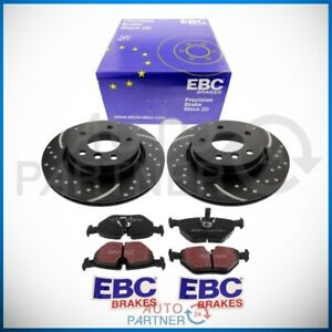 EBC-for-BMW-E46-Sportbremse-Perforated-Brake-Discs-Pads-294mm-Rear-Vented