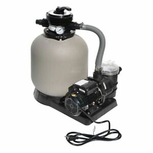 Swimline 71405 14 Inch Sand Filter System 0 5 Hp