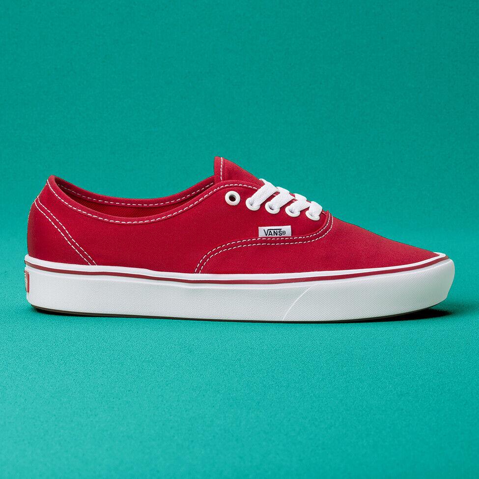 Vans Comfycush Authentic Sneakers Original shoes Red VN0A3WM7VNF US Size 4-13