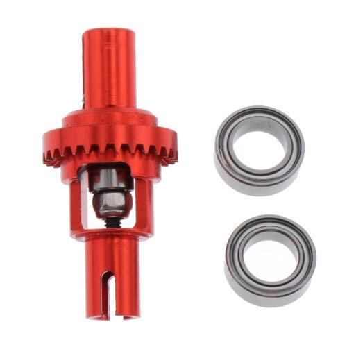 1x Differential Gear 2x Bearings for 1//28 Wltoys K989 K969 K979 K999 P939