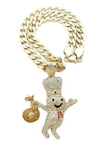 DOUGHBOY-PENDANT-WITH-11mm-24-034-CUBAN-CHAIN
