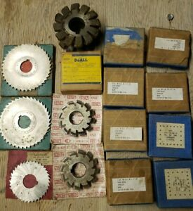 Horizontal-milling-machine-cutters