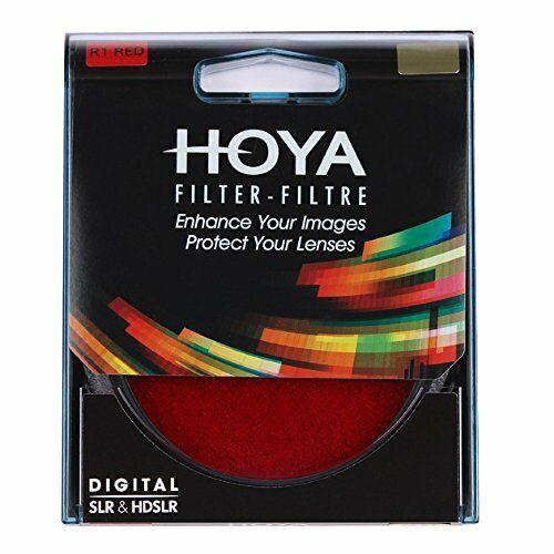 Genuine Hoya 72mm Filtro Rojo R1 Pro hecho en Japón Vidrio De Calidad Profesional.
