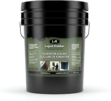 Liquid Rubber Foundation And Basement Sealant Indoor Outdoor Use Easy To A