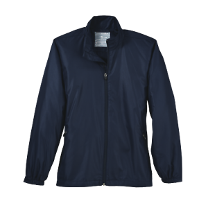 Page-amp-Tuttle-Embossed-Windshirt-Casual-Golf-Outerwear-Navy-Womens