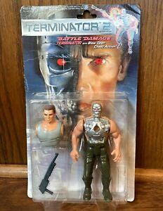Battle-Damage-Terminator-Vintage-Action-Figure-New-1991-Kenner-90s-Movie
