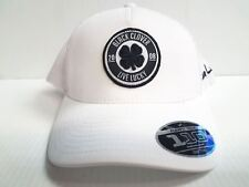 Black Clover Cap Anniversary Patch  1 Mesh Adjustable White Golf Hat Live  Lucky ab7a4c6e3b88