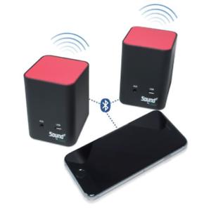 Portable Magnetic Bluetooth Dual Speaker Set Jackco Sound Zt51000 See Video Ebay