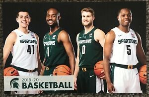 Details About 2019 2020 Michigan State Spartans Basketball Schedule Cool Winston Sked