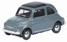 Schuco 26151 - Fiat 500 F - Grey 1/87 H0 Scale - New in Case - 1st Class Post