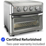 Cuisinart TOA-60FR Air Fryer Toaster Oven Silver - Certified Refurbished