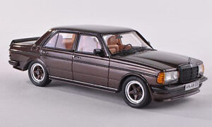 Neo Mercedes Benz W123 Amg Dark Brown Resin 1 43 New Item Ebay