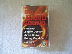 Vintage-034-NIP-034-2-Cassette-Pack-The-Big-Band-Sound-amp-The-Big-Band-Spectacular