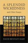 A Splendid Wickedness and Other Essays by David Bentley Hart (Paperback, 2016)