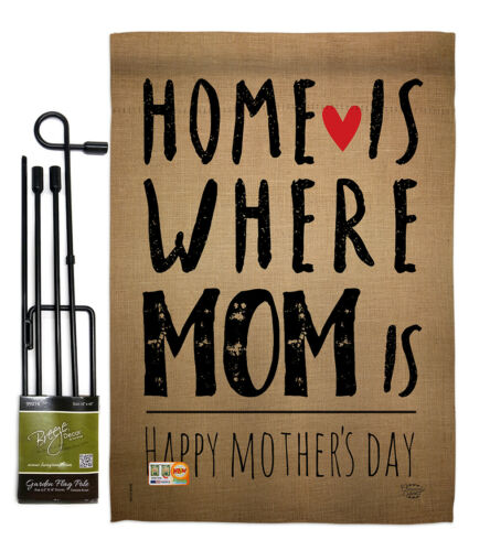 Home is Where Mom Is Impressions Decorative Flag Collection HG192066