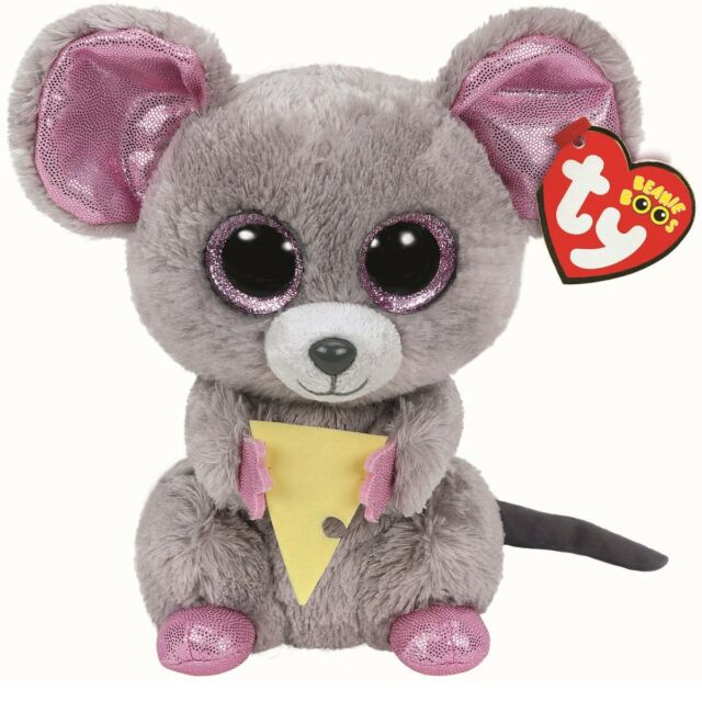Ty Beanie Boo Plush - Squeaker The Mouse 15cm for sale online  66fd185c6b3