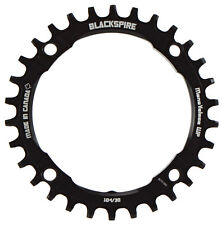 Blackspire Snaggletooth Narrow Wide 1x MTB Chainring 104mm BCD 36t Black