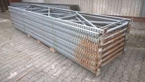 Regalrahmen, Ständer Schwerlastregal, Palettenregal, SSI Schäfer S 56-3, 4,5m