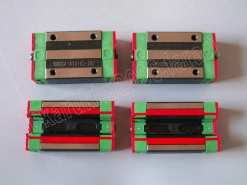 HGR25-1050mm Linear Guideway Rail 4x HGH25CA Square type carriage bearing block