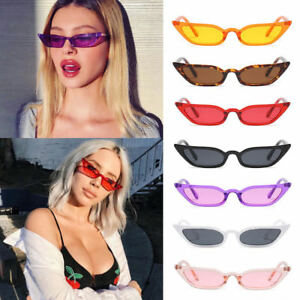 Fashion-Women-Cat-Eye-Sunglasses-Small-Vintage-Glasses-UV400-Eyewear-Shades