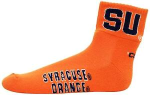 Donegal-Bay-NCAA-Syracuse-Orange-Quarter-Socks-Adult-One-Size-Pair