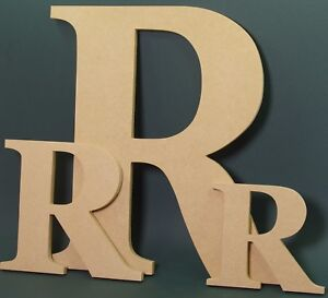 Details About Extra Large Wooden Letters 40 Cm Made From Mdf Hand Made Namessigns Georgia