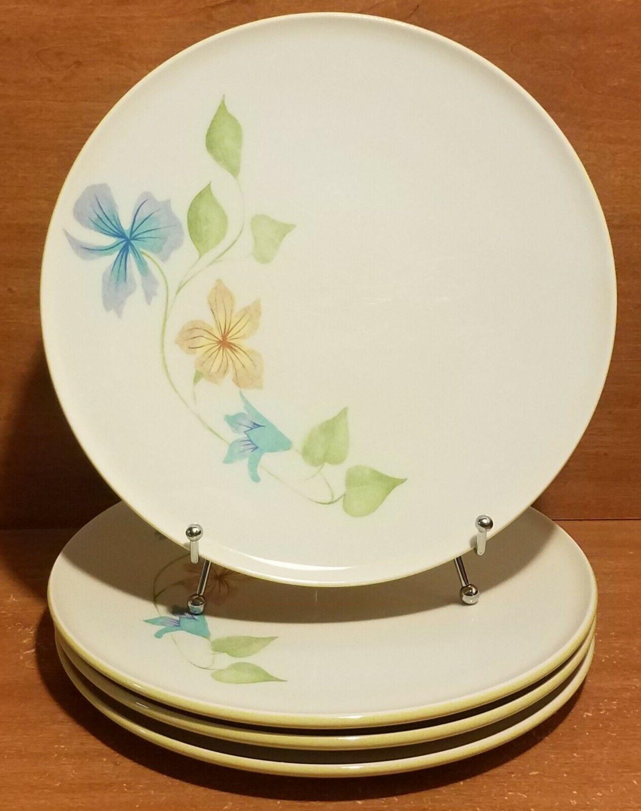 Iroquois InformaI SLEEPY HOLLOW Dinner plate set of 4, 10 3 8 , Ben Seibel, EUC