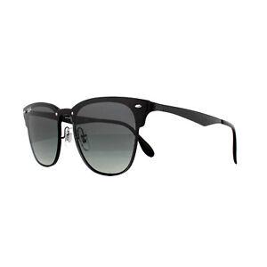 67cf4ebb5c Ray-Ban Sunglasses Blaze Clubmaster 3576N 153 11 Demi Gloss Black ...