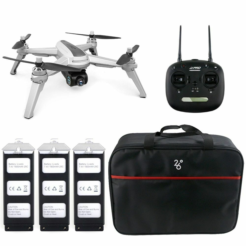 RC Drone GPS Positioning JJRC JJPRO X5 5G WiFi FPV Brushless Helicopters 1080P