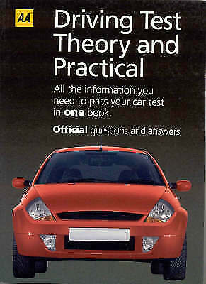 """1 of 1 - """"VERY GOOD"""" AA Driving Test: Practical and Theory, , Book"""