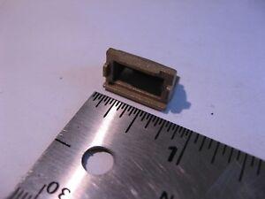 WR51-Waveguide-Bronze-E-Plane-Bend-90-deg-Casting-NOS-Qty-1
