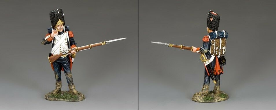 KING AND COUNTRY NAPOLEONIC Standing biting Cartridge NA373