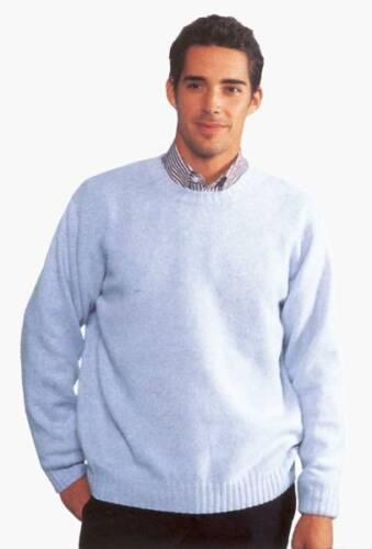 runder Ausschnitt JOCKEY Pullover 100/% Schurwolle Farbe jedoch dunkelbraun