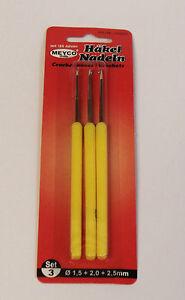 3-Haeckelnadeln-3er-Set-Handarbeiten-Haeckel-Nadel-Nadeln-Wolle-Haeckelnadel