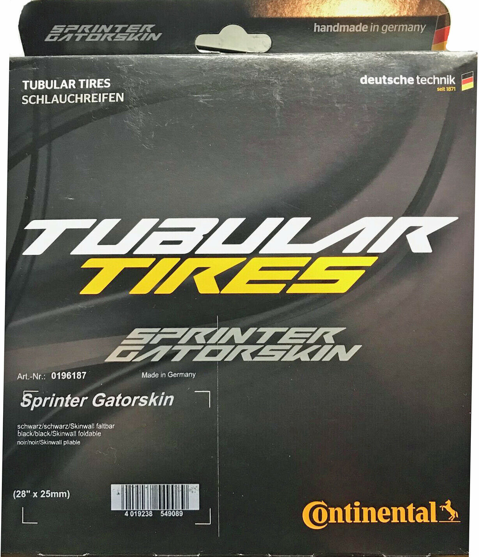 Continental Sprinter Gatorskin 700x25 tubular tire New Old Stock