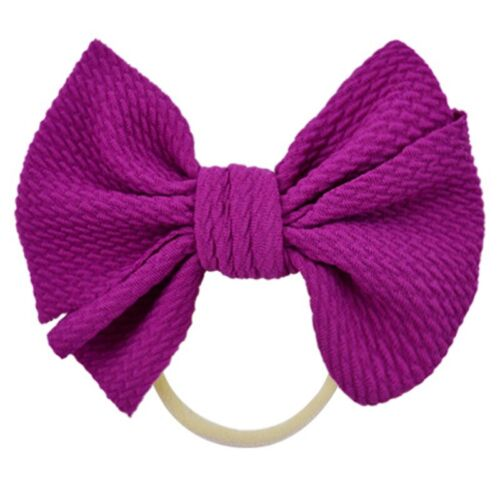 Baby Girls Kids Toddler Bow Knot Hairband Headband Stretch Turban Accessories