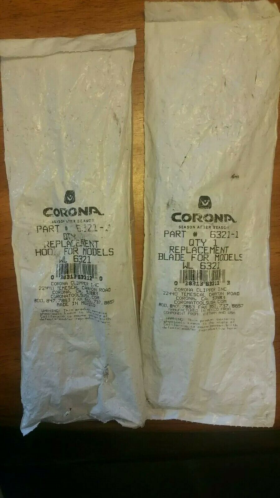 CGoldna Replacement Hook Blades for WL 6321-2 and 6321-1