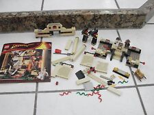 INDIANA JONES RAIDERS OF THE LOST ARK LEGO SET #7621 THE LOST TOMB parts/pieces