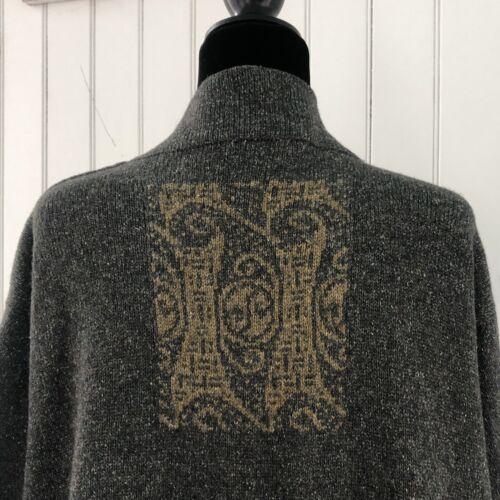 Deirdre Minogue Ireland Sweater Cardigan Duster Si