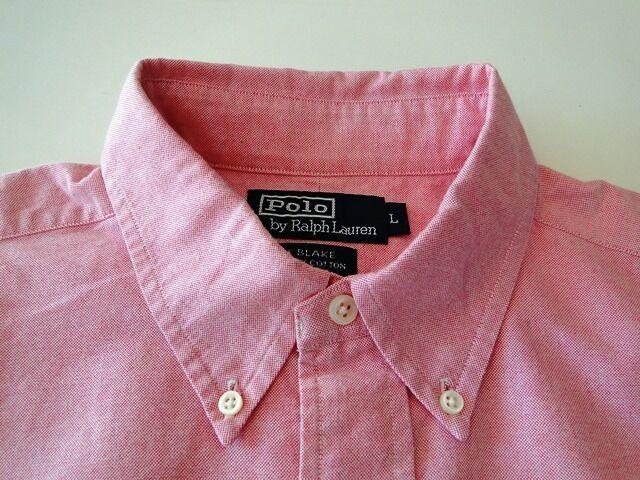 Ralph Lauren Lauren Lauren Blake Herren Hemd Langarm Rosa Strukturiert Gr. L   16 4fd117