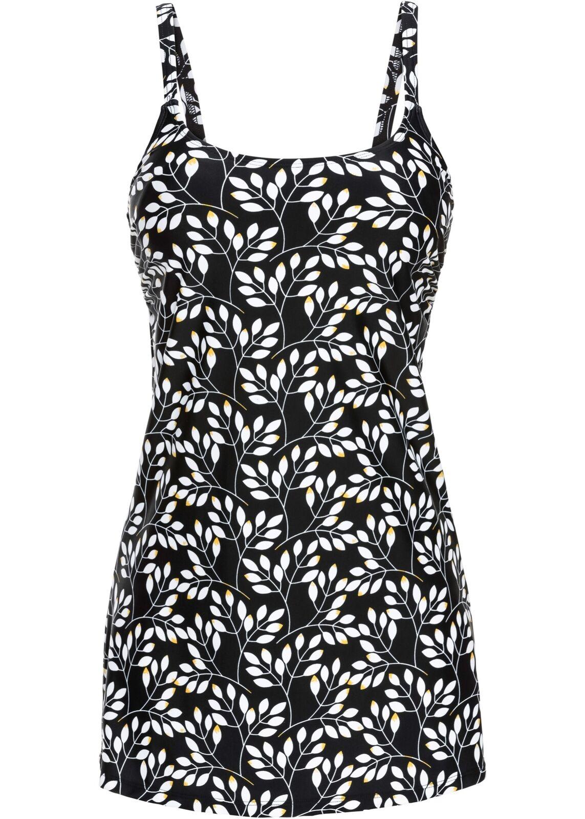 Badeanzugkleid Gr. 38 Schwarz Weiß Badeanzug Schwimmanzug Damen Bade-Kleid Neu | Zu einem erschwinglichen Preis  | Marke  | Zuverlässiger Ruf  | Abgabepreis  | Ausgezeichnete Leistung