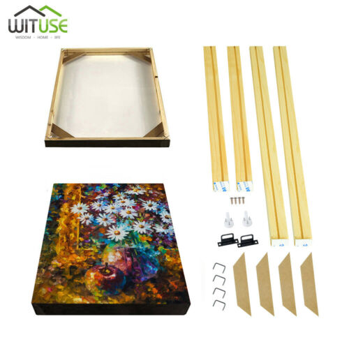 Professional Wooden Canvas Frame Kit For Oil Painting Wall Art Multiple Sizes 6