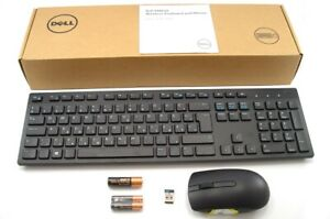 Genuine-DELL-KM636-Wireless-Cordless-Keyboard-Mouse-Set-Kit-HUNGARIAN-Layout